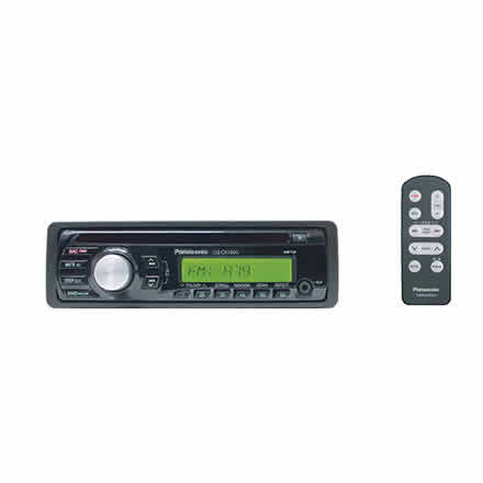 CD Player with 3.5mm Front Aux-In, AM/FM/MP3 and Remote Control