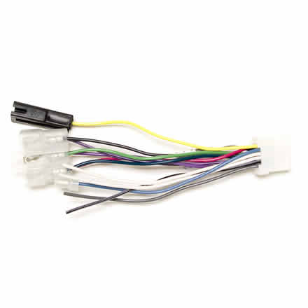 Harness for Panasonic Radio Non-Terminated Wires