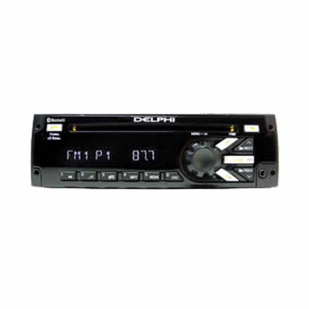 Heavy-Duty AM/FM/MP3/WB/CD Player with Bluetooth