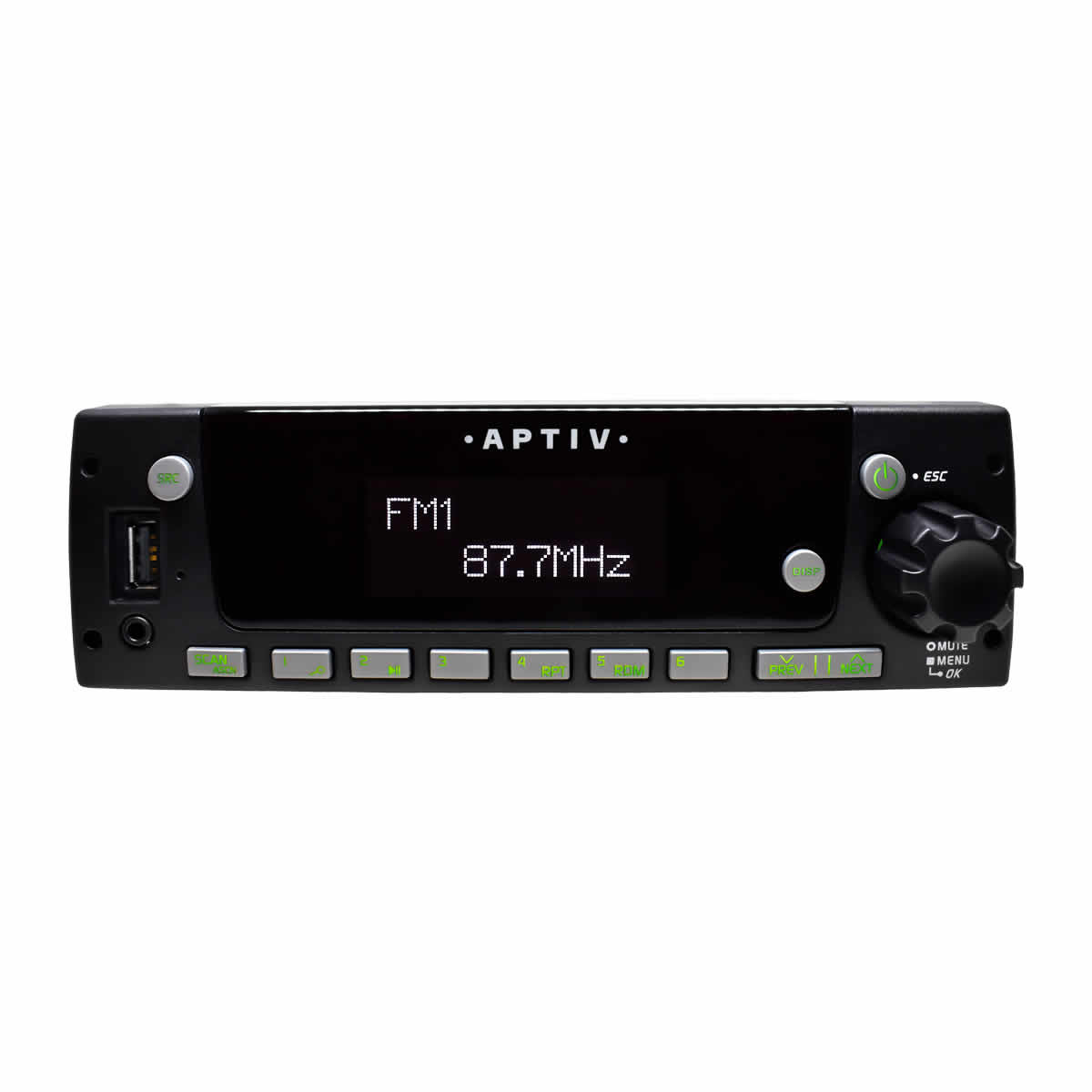 Heavy Duty AM/FM/WB Stereo with Front USB and 3.5mm Input