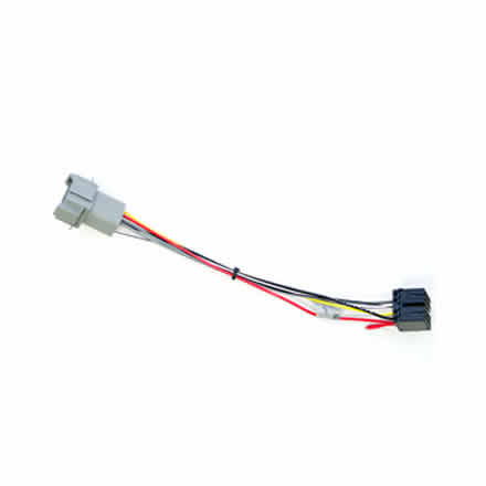 harness for delphi radio fci conn  to iso wiring – caterpillar